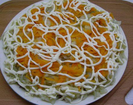 Шуба - слой моркови